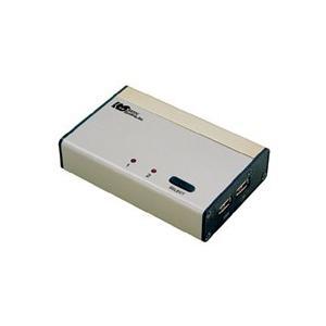 6/25 最大2000円クーポン&P2倍 USB接続 DVI Audio対応 (PC2台用) REX-230UDA パソコン自動切替器 KVMスイッチ CPU切替器 KVM USB ratoc