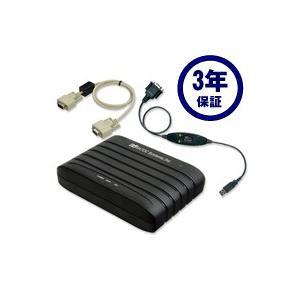 RS-232C 56K DATA/14.4K FAX Modem (USB変換ケーブル付) 3年保証モデル REX-C56EX-UW3 ratoc
