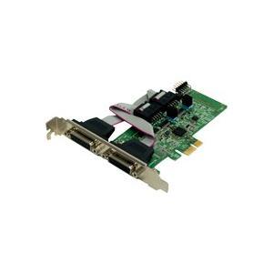 RS-422A/485・デジタルI/O PCI Expressボード REX-PE70D|ratoc