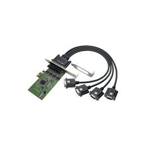 4ポート RS-232C・デジタルI/O PCI Expressボード REX-PE64D|ratoc