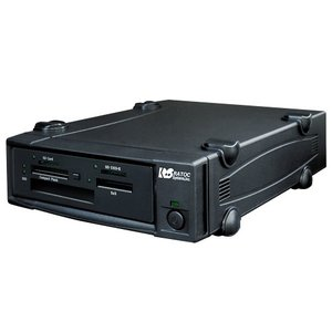 USB3.0接続プロメディア仕様メモリーカード リーダーライターユニット(外付電源内蔵タイプ) REX-MR18EX|ratoc