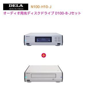 メルコシンクレッツ製 DELA ネットワークオーディオサーバーN100-H10-J & メルコシンクレッツ製 Audio用光ディスクドライブD100-B-Jセット|ratoc