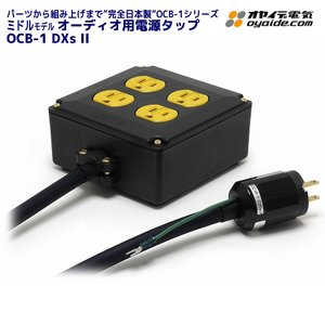 OYAIDE オヤイデ電気製 オーディオ用4口電源タップ OCB-1 DXs II ratoc