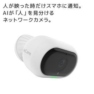4/15 P2倍&最大2千円クーポン 国内ブランド ieCame ネットワークカメラ RS-WFCAM3 防犯 防犯カメラ 家庭用 屋外 防水 動体検知 通知 赤外線 暗視|ratoc