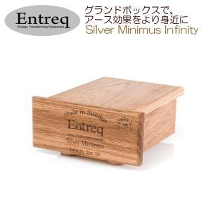 Entreq製 グランドボックス(仮想アース装置)小型ミドルクラスモデル Silver Minimus Infinity ratoc
