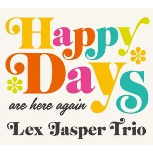 澤野工房 Jazz Collection 「HAPPY DAYS (Are Here Again) 」レックス・ジャスパー・トリオ AS153 クロネコDM便|ratoc