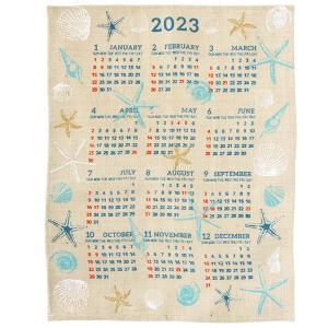 カレンダー 2020年 壁掛け ジュート シンプル インテリア 家族 北欧 ポスター アート おしゃ...