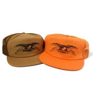 アンタイヒーロー ベーシック イーグル トラッカー キャップ 全2色 メンズ 帽子|rawdrip