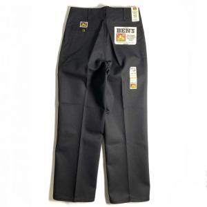 ベン デイビス オリジナル ベンズ ワークパンツ ブラック メンズ/USAモデル/チノパン|rawdrip