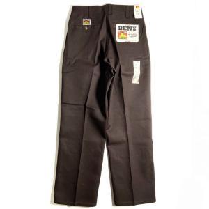ベン デイビス オリジナル ベンズ ワークパンツ ブラウン メンズ/USAモデル/チノパン|rawdrip