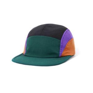 バターグッズ クレセント キャンプ キャップ フォレスト/パープル/ブラウン メンズ/帽子 rawdrip