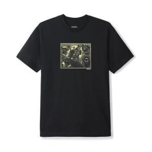 バター グッズ フォーギヴ Tシャツ ブラック メンズ/半袖Tシャツ|rawdrip