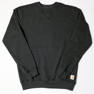 カーハート クルーネック スウェット シャツ ブラック K124|rawdrip