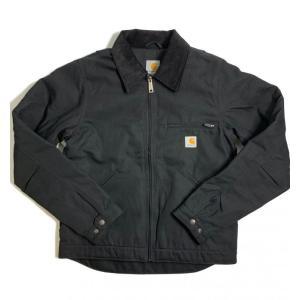 カーハート デトロイト ジャケット 103828 ブラック メンズ/アウター/ブルゾン|rawdrip