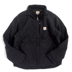 カーハート フルスイング アームストロング ジャケット 103370 ブラック メンズ/アウター|rawdrip