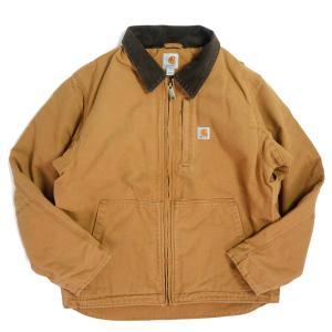 カーハート フルスイング アームストロング ジャケット 103370 カーハートブラウン メンズ/アウター|rawdrip