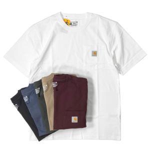 カーハート ワークウェア ポケット Tシャツ K87/ 全12色|rawdrip