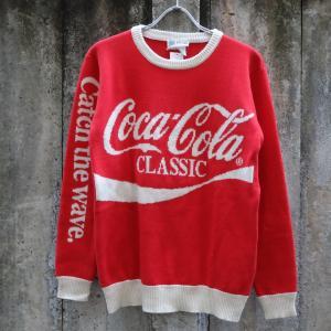 コカ コーラ セーター レッド|rawdrip