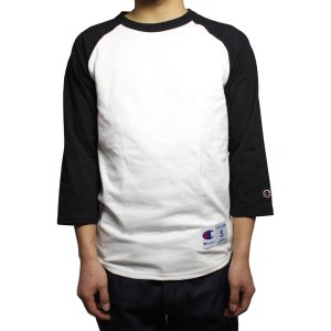 チャンピオン ラグラン Tシャツ 全8色|rawdrip