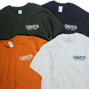 デイヴス ニューヨーク ワーク ロゴ Tシャツ 全4色 メンズ|rawdrip