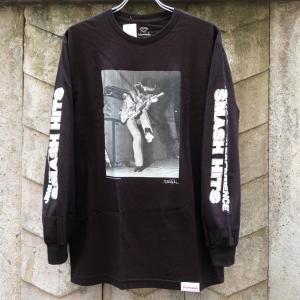 ダイアモンド サプライ co. ジミ ヘンドリックス ロングスリーブ Tシャツ ブラック|rawdrip