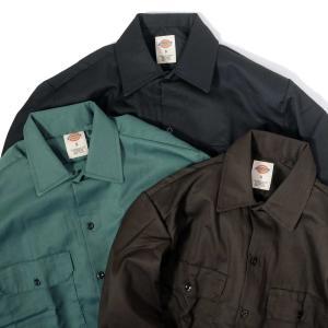 ディッキーズ ロングスリーブ ワーク シャツ 全3色 メンズ|rawdrip