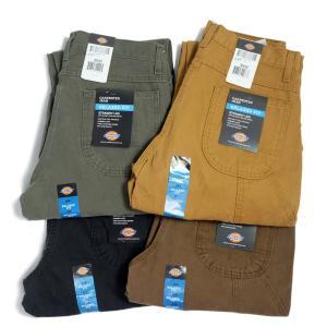 ディッキーズ リラックスフィット カーペンター ダック ジーンズ 全4色 メンズ/USAモデル/ワーク/ペインターパンツ|rawdrip