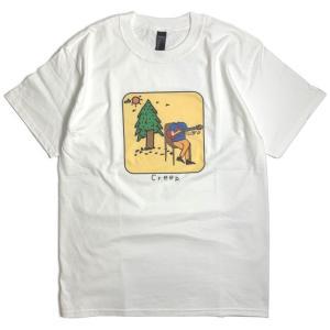 イージー クリープ Tシャツ ホワイト メンズ/半袖Tシャツ|rawdrip
