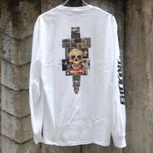 ファキン オーサム KB カレッジ ロングスリーブ Tシャツ ホワイト|rawdrip
