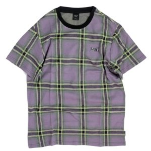 ハフ ボーランド  ニット シャツ グレープ メンズ/半袖Tシャツ|rawdrip