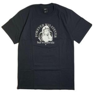 ハフ フォーエバー ワットエバー オーメン Tシャツ ブラック メンズ/半袖Tシャツ|rawdrip