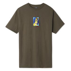 ハフ メッセド アップ バニー Tシャツ チョコレート メンズ/半袖Tシャツ|rawdrip