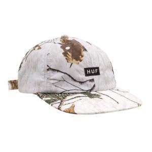 ハフ リアルツリー 6パネル キャップ ホワイト メンズ/レディース/帽子 rawdrip