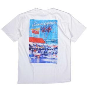 インアウトバーガー #100 1992 アット ザ ビーチ Tシャツ ホワイト rawdrip
