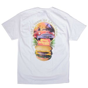 インアウトバーガー #107 1993 テイスト オブ カリフォルニア Tシャツ ホワイト rawdrip