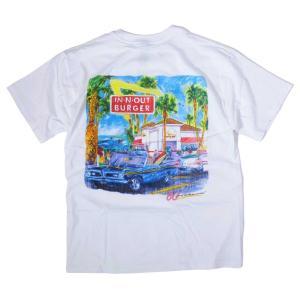 インアウトバーガー #123 2008 60TH アニバーサリー Tシャツ ホワイト rawdrip