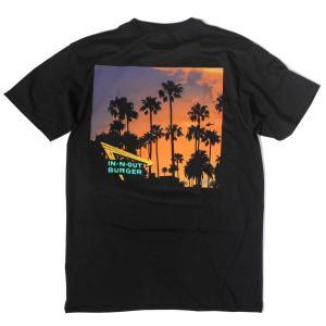 インアウトバーガー #144 2017 カリフォルニア ドリーミン Tシャツ ブラック rawdrip