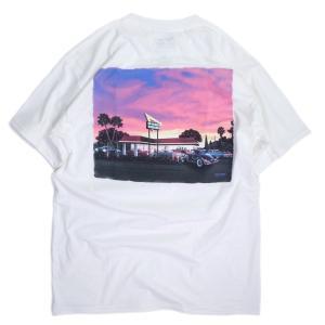 インアンドアウトバーガー #149 2020 カリフォルニア サンセット Tシャツ ホワイト メンズ/レディース/半袖Tシャツ|rawdrip
