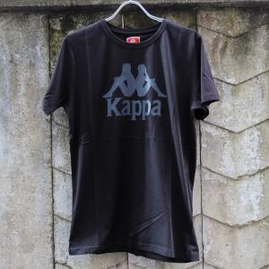 カッパ ロゴ Tシャツ ブラック|rawdrip