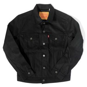 リーバイス トラッカー デニムジャケット ブラック メンズ US規格|rawdrip