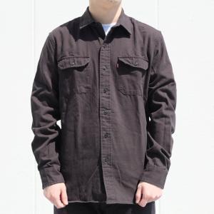 リーバイス ワーク シャツ ブラック|rawdrip
