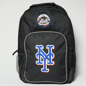 MLB ニューヨーク メッツ オフィシャル バッグパック ブラック|rawdrip