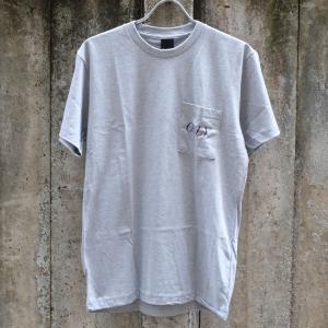 オンリー ニューヨーク ミットタウン ポケット Tシャツ グレー|rawdrip
