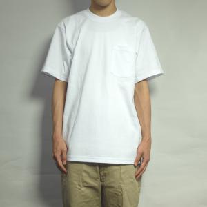 プロクラブ ヘビーウェイト クルー ネック ポケット Tシャツ 全4色 無地|rawdrip