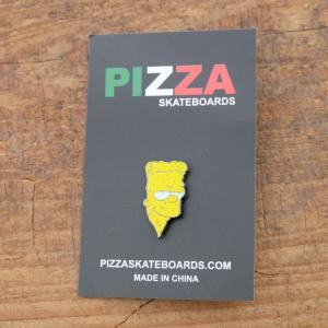 ピザ スケートボード バード ピン|rawdrip
