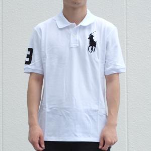 ポロ ラルフ ローレン ボーイズ ビッグ ポニー ポロシャツ ホワイト|rawdrip