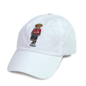 ポロ ラルフローレン ポロ スポーツ ベアー チノ ボール キャップ ホワイト/メンズ/帽子 rawdrip