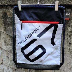 ポロ スポーツ サックバッグ ホワイト|rawdrip