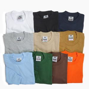 プロクラブ ヘビーウェイト ロングスリーブ Tシャツ 全3色 無地|rawdrip