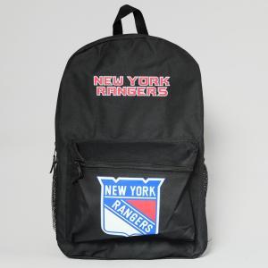 NHL ニューヨーク レンジャース オフィシャル バッグパック ブラック|rawdrip